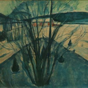 Munch blaue Winternacht